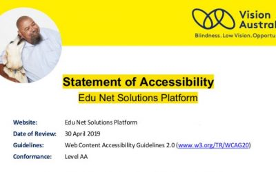 Edu Net Solutions Achieves Level AA Accessibility Compliance
